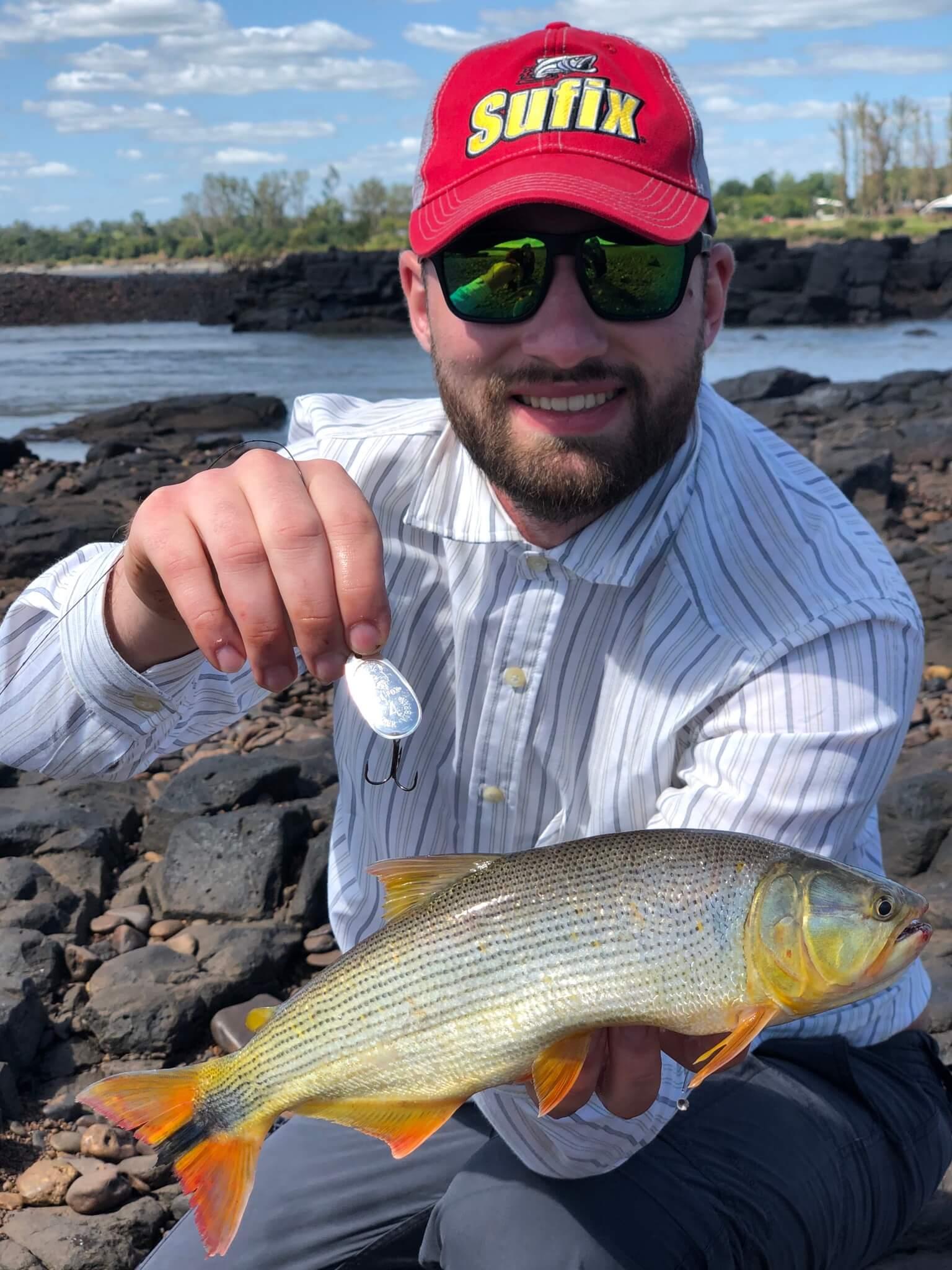 BlueFox Spinner findet den Fisch